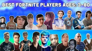 Best Fortnite Player At Every Age - Ages 3 To 80 Fortnite Players