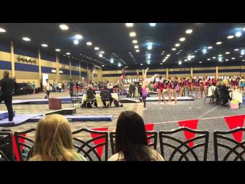Sarah Clark Gymnastics || Level 10 Bars Champion 9.45!! || Brestyan's Invitational 2016