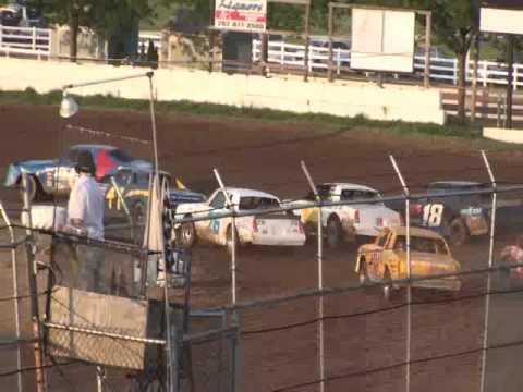 Wilmot Speedway - three wide