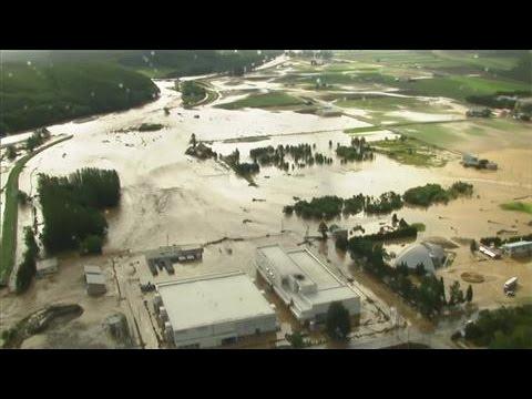 Typhoon Lionrock Kills at Least 11 People in Japan