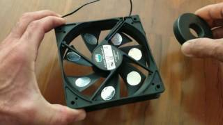 FREE ENERGY GENERATOR A PERPETUAL MOTION MACHINE & COMPUTER FAN EXPLAINED DEBUNKED!!