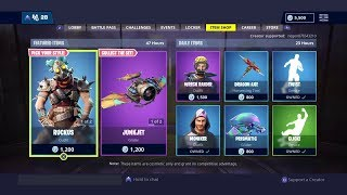 Fortnite ITEM SHOP from November 4th (all skins, all gliders, all emotes and all axes) – Playr NINE