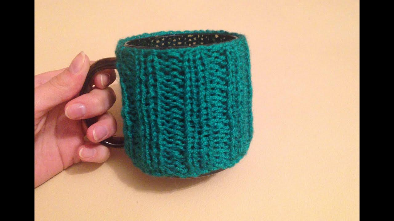DIY / Своими руками: Вязание на спицах. Кружки в одежках ...