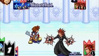 Kingdom Hearts Chain of Memories Sora vs Axel 2