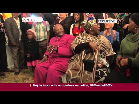 CCTV EXCLUSIVE: Desmond Tutu Dancing at 82nd Birthday Party