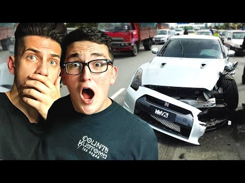 I ACCIDENTLY CRASHED MY FRIEND'S NISSAN GTR! (With 09SHARKBOY & MOOSECRAFT) from YouTube · Duration:  12 minutes 30 seconds