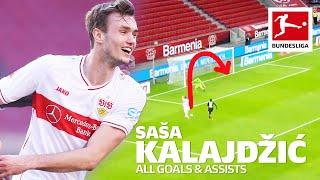 Saša kalajdžić - all goals and assists so far this season