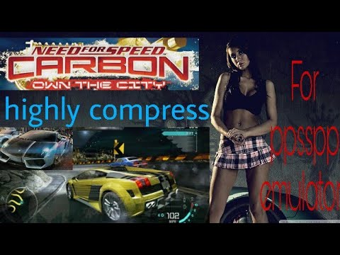 Need For Speed Carbon Own The City For Mobile Ppsspp Emulator