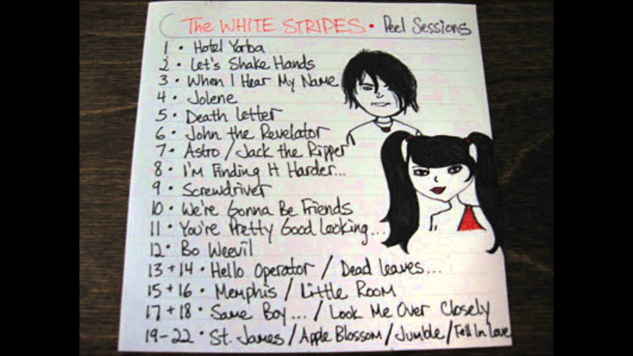 The White Stripes   Death Letter (Son House cover, The Peel