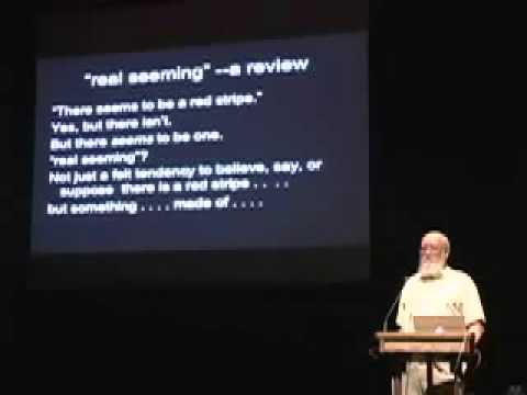 "Daniel Dennett -""A Phenomenal Confusion About Access and Consciousness"""