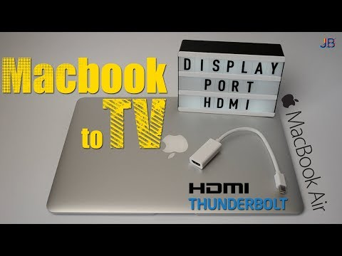 Подключаем MacBook к монитору или телевизору за 2$