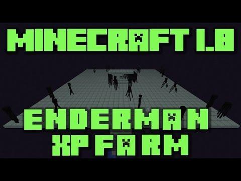 farm a enderman minecraft