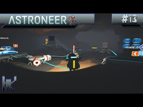 Let's Play Astroneer - Episode 13: Moving The Arid Base Underground!!
