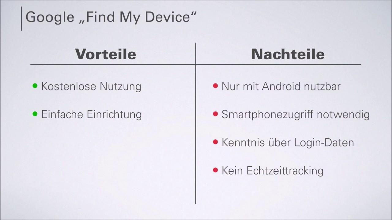 Handy gestohlen? Das Handy mit Google sperren und Daten löschen