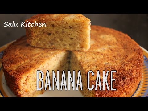How To Make Banana Cake In Pressure Cooker