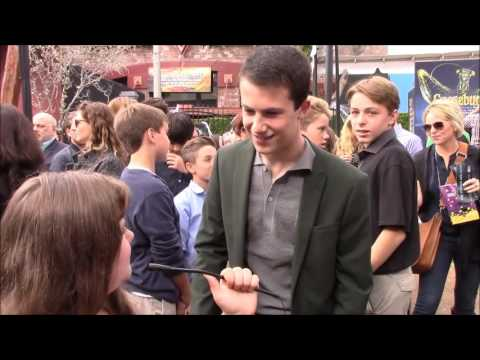 Morgan Interviews Dylan Minnette at the Goosebumps Red Carpet