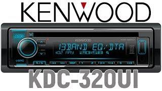 Обзор головного устройства ( ресивера) Kenwood KDC-320UI. Включение поканалки. Отзыв.