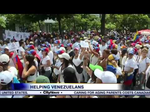 Venezuela in chaos: Former citizens of the country living in Toronto send help