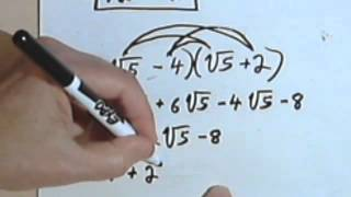 Multiplying Radical Expressions 5-5