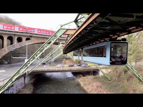 Wuppertal, Germany Schwebebahn