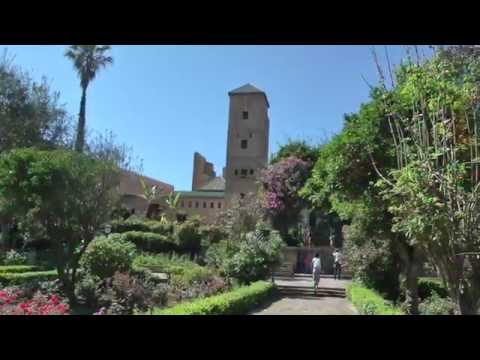 Plateforme Du Semaphore and Andalusian Gardens in Rabat - Morocco