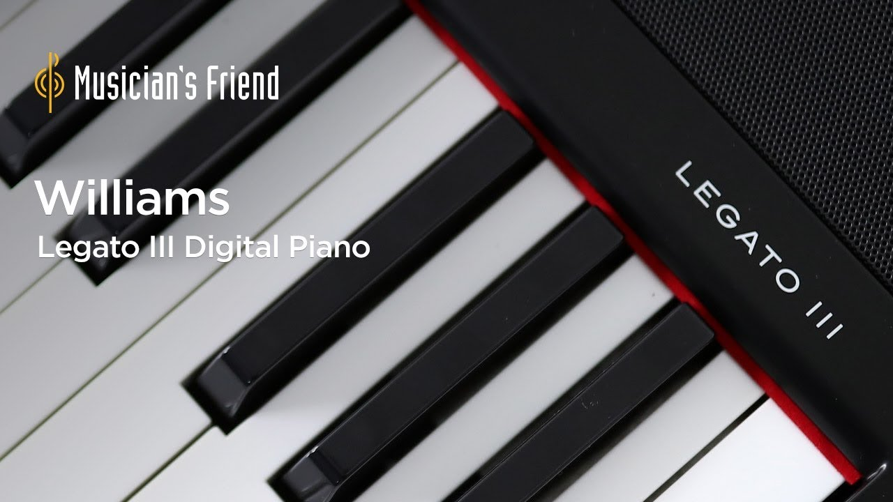 Williams Legato Iii  Key Digital Piano Demo All Playing No