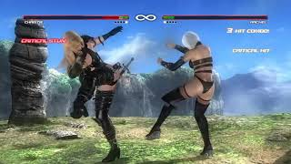 DEAD OR ALIVE 5 Last Round Christie vs Rachel