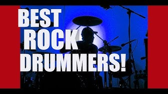 Ken's GREATEST ROCK DRUMMERS list, and why they're great