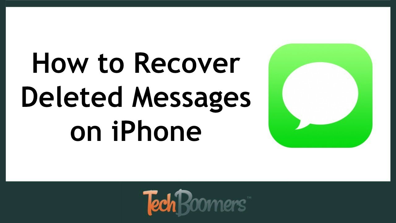 how to pull up deleted text messages on iphone how to recover deleted text messages on iphone 21385