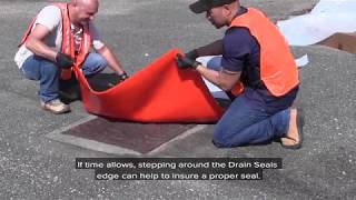 Seal Drains and Stop Spills
