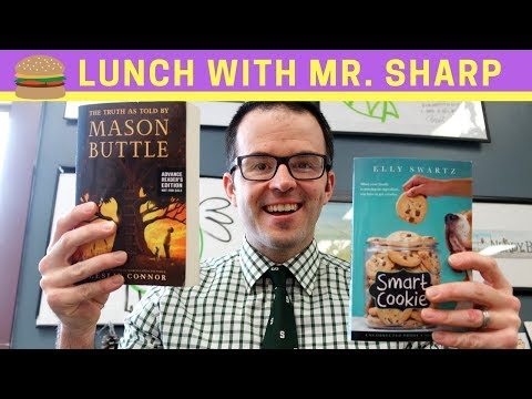 Smart Cookie and The Truth As Told By Mason Buttle | Lunch With Mr. Sharp
