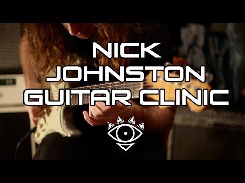 Nick Johnston clínica (Live México City @ Quality Guitar 2017)