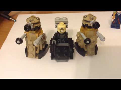 Lego Davros Tutorial Youtube