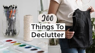 200 Things To Get Rid Of In 2020 | Ultimate Decluttering Guide | Part 2