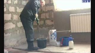 видео Обмазочная гидроизоляция Ceresit
