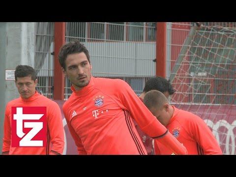 FC Bayern München: Erstes Training mit Mats Hummels und Renato Sanches