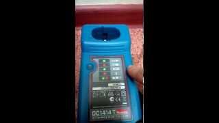 Заряджаємо акумулятор від шуруповерт Makita