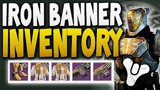 Destiny - IRON BANNER LEAKED INVENTORY /w RANK 5 GLITCH !!