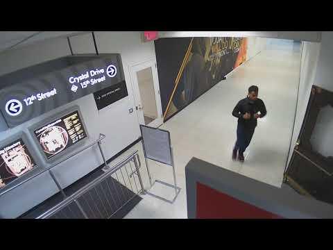 Surveillance Video of Sexual Assault Suspect