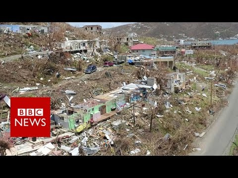 Hurricane Irma wreaks havoc in British Virgin Islands - BBC News