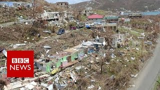 Hurricane Irma wreaks havoc in British Virgin Islands - BBC News