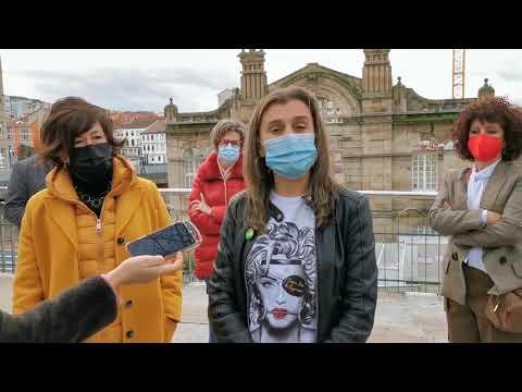 El PSOE denuncia la desidia de Jácome con la Praza de Abastos