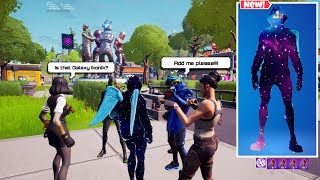 Galaxy Ikonik in Forтnite Party Royale