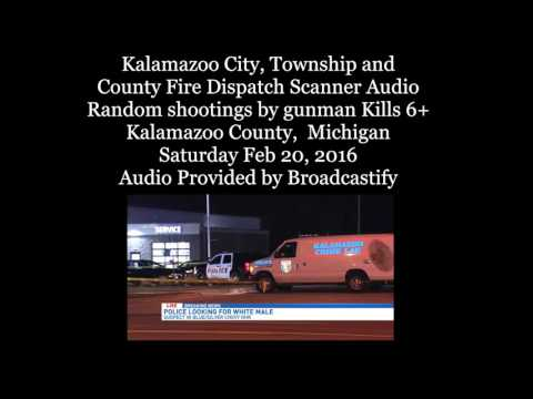 Fire dispatch audio: Mich. gunman kills 6 in 7-hour rampage