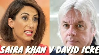 Saira Khan clashes with David Icke and Tommy Robinson #renegade