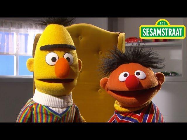 Ernie praat te snel - Bert & Ernie - Sesamstraat