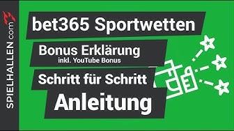 🇩🇪 bet365 Bonus 🤔 : Unsere Echtgeld BONUS Formel! 🔥