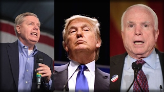 HERE IT IS! PRESIDENT TRUMP JUST OBLITERATED LINDSEY GRAHAM AND JOHN MCCAIN IN 2 EPIC TWEETS!