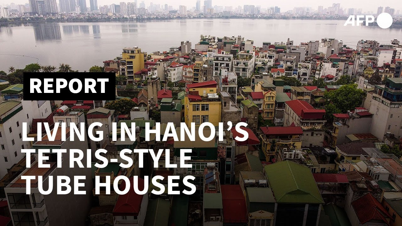 The 'tube houses' that dominate Hanoi's streets | AFP