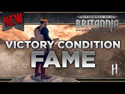 FAME VICTORY CONDITION | Building Tall Not Wide in Total War's Saga Thrones of Britannia